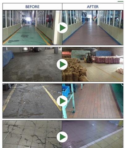 Industrial Floor tiles